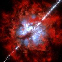 Vụ nổ tia gamma dữ dội nhất trong vũ trụ