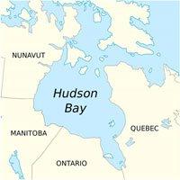 Vùng vịnh có trọng lực yếu bất thường ở Canada