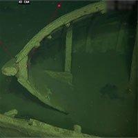Xác tàu nguyên vẹn sau 500 năm dưới đáy biển Baltic