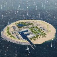 Xây đảo nhân tạo tỷ USD để... thu thập năng lượng gió