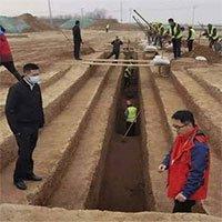 Xây đường tàu và sân bay, đụng độ 3.500 mộ cổ nằm gần