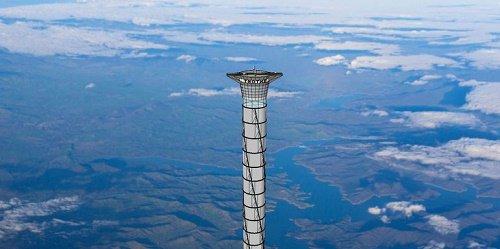 Xây thang máy không gian trong tiểu thuyết viễn tưởng
