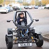 Xe điện buggy in 3D làm từ nhựa tái chế