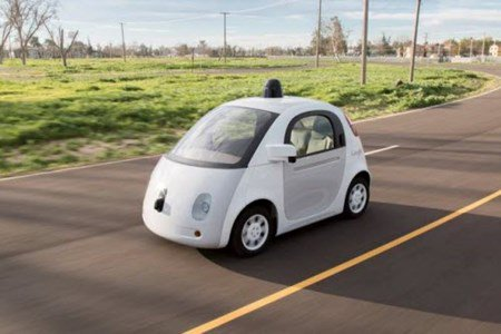 Xe hơi tự lái của Google sắp