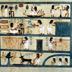 Xem cách giải trí, thi đấu thể thao thời Ai Cập cổ đại