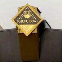 Xem quá trình di chuyển con thuyền gỗ lớn và lâu đời nhất ở Ai Cập