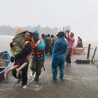 Xuất hiện vùng áp thấp trên Vịnh Thái Lan, miền Trung tiếp tục mưa lớn