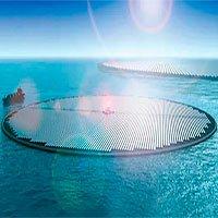 """Ý tưởng """"đảo Mặt Trời"""" khổng lồ có thể biến nước biển thành… xăng!"""