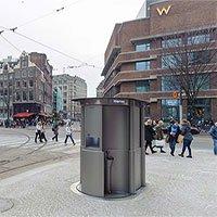 Ý tưởng nhà vệ sinh công cộng dạng pop-up ở Hà Lan